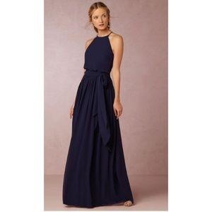 Donna Morgan Alana blouson bridesmaid gown 6 New